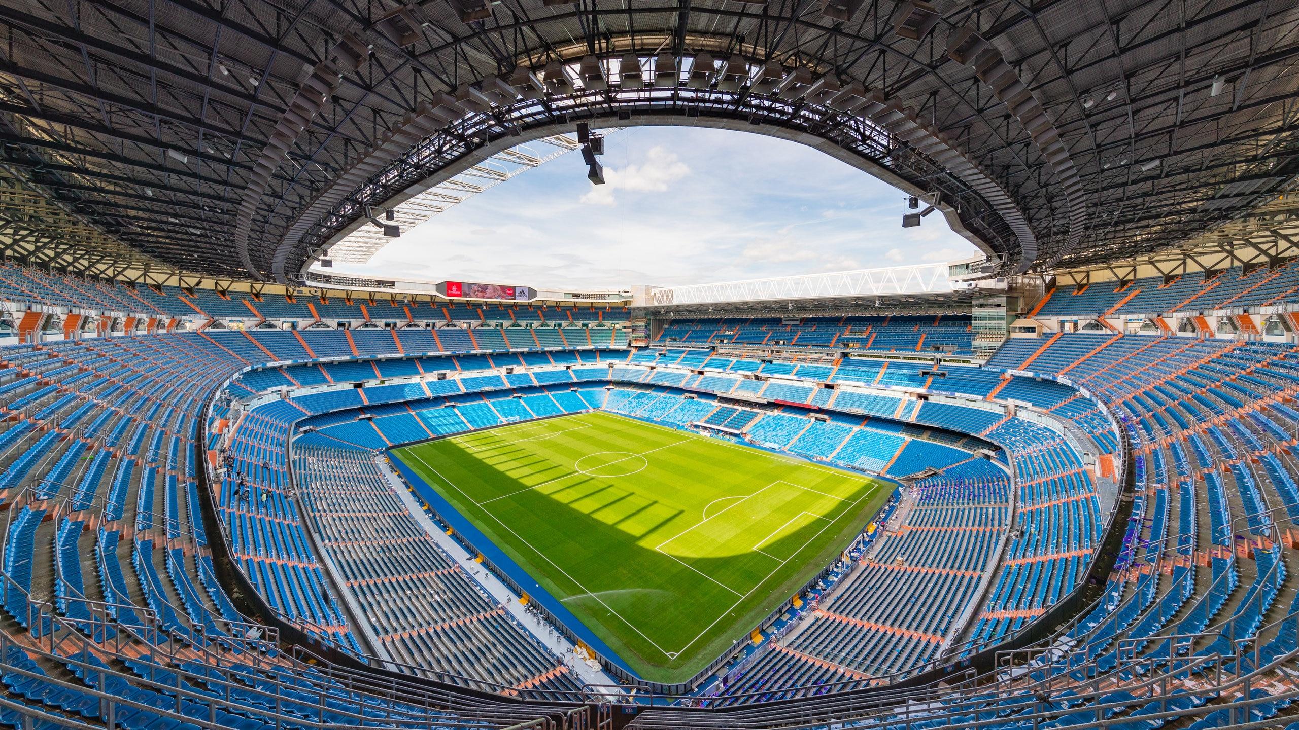 Santiago Bernabeu Stadium, Madrid, Community of Madrid, Spain