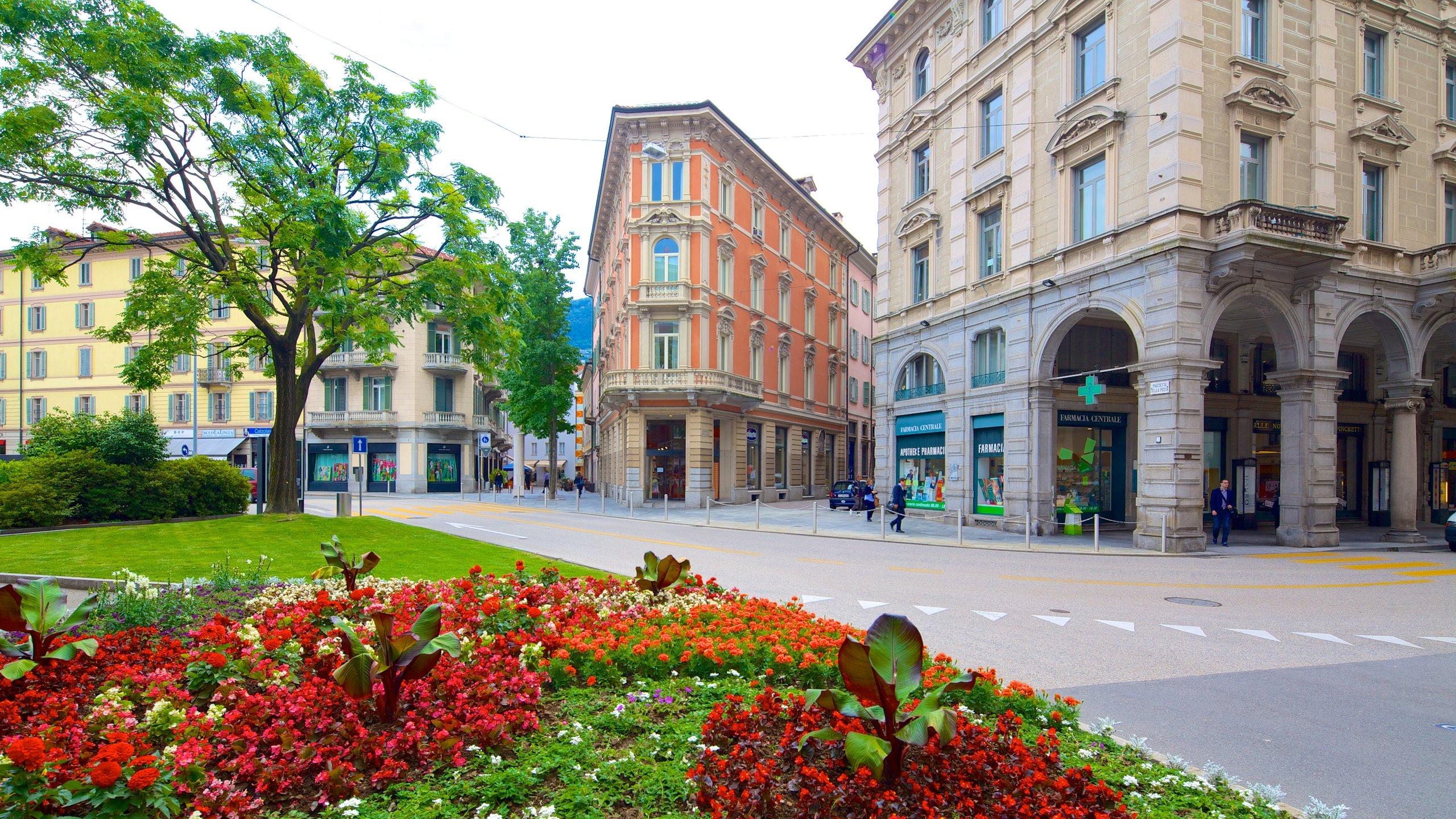Lugano, Kanton Tessin, Schweiz