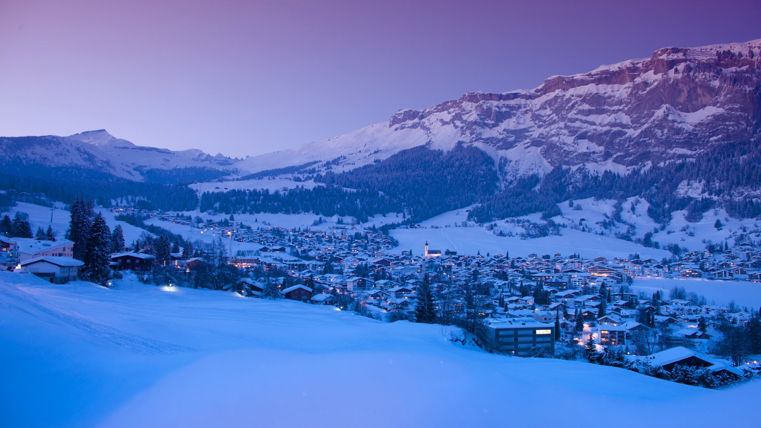 Laax, Graubuenden, Switzerland