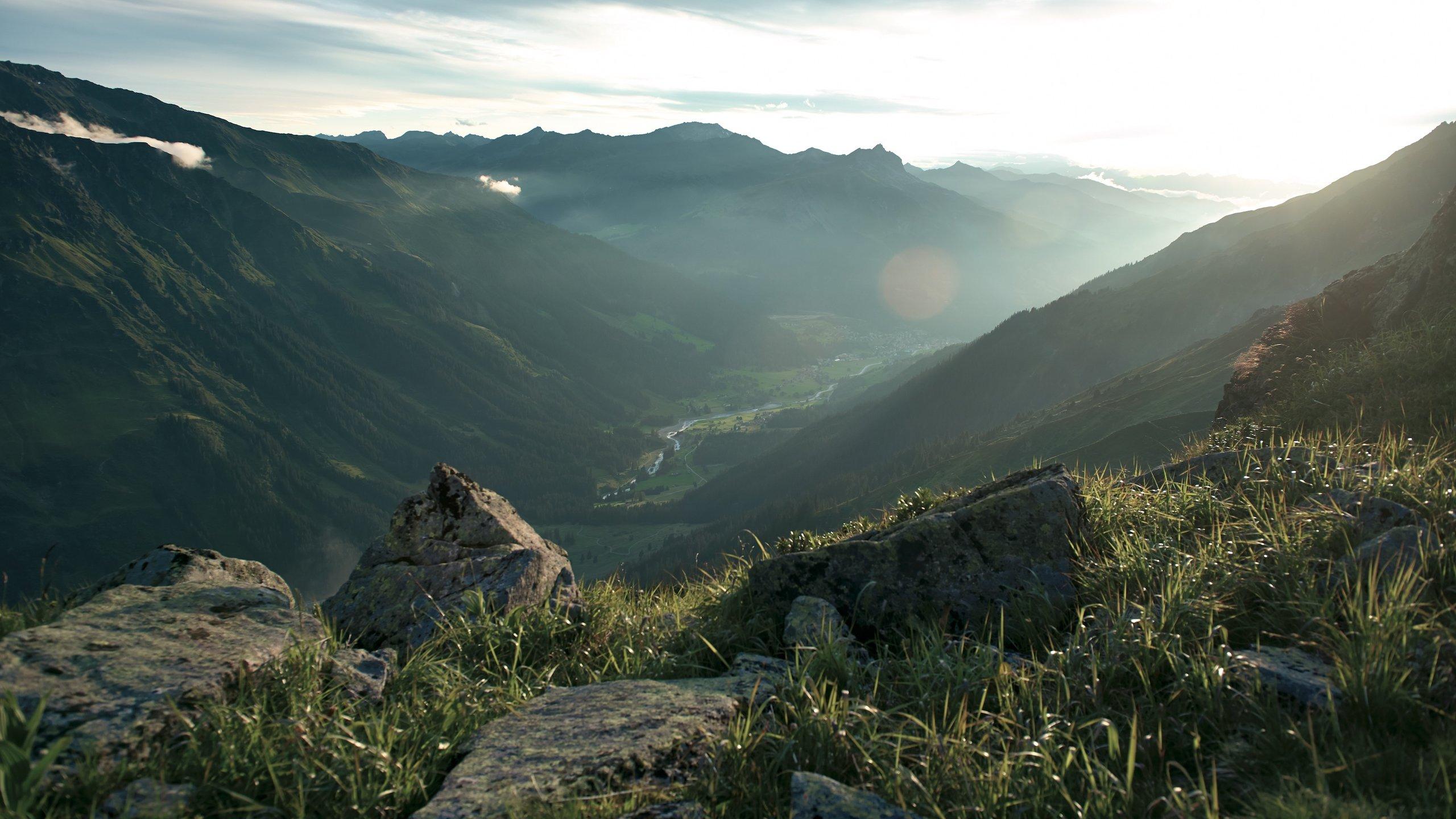 Klosters-Serneus, Graubuenden, Switzerland
