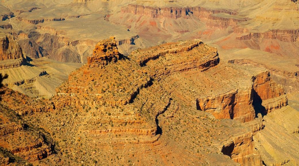 Phoenix caracterizando um desfiladeiro ou canyon e paisagem