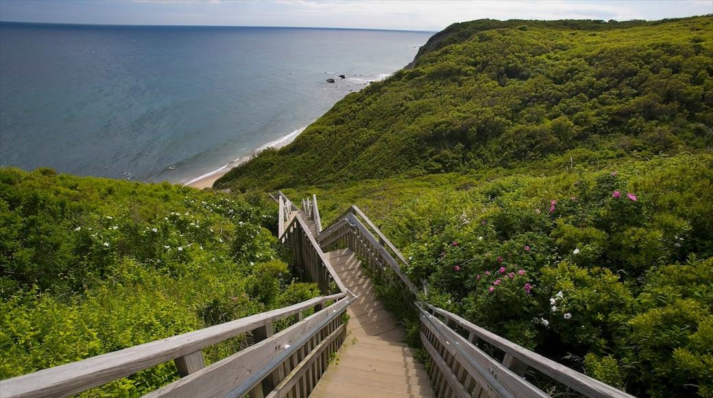 Block Island featuring general coastal views