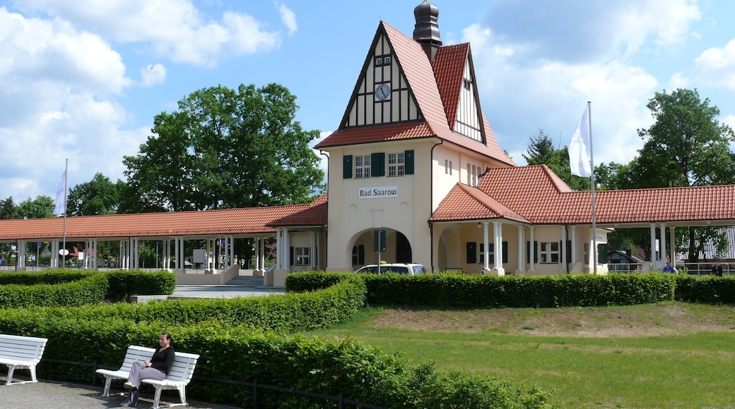 Bad Saarow featuring modern architecture