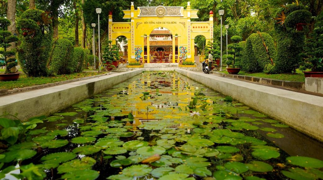 타오단 공원 이 포함 연못 과 정원