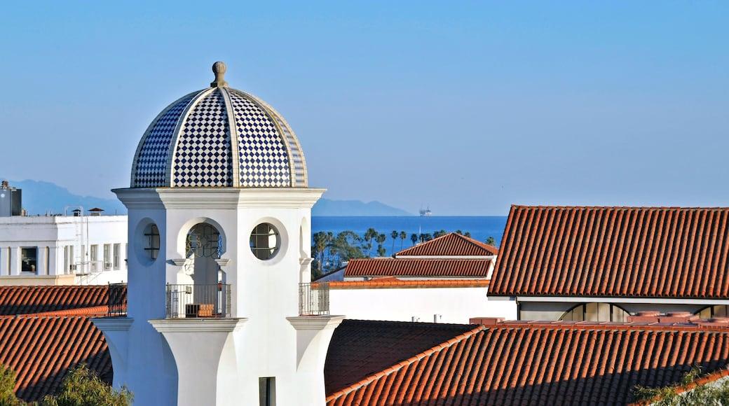 Santa Barbara featuring a coastal town
