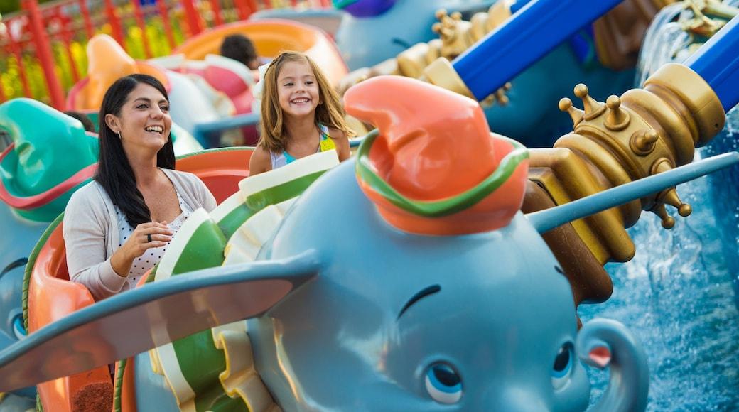 Parque temático Magic Kingdom® ofreciendo atracciones