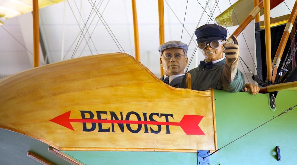 St. Petersburg Museum of History inclusief vliegtuigen en interieur