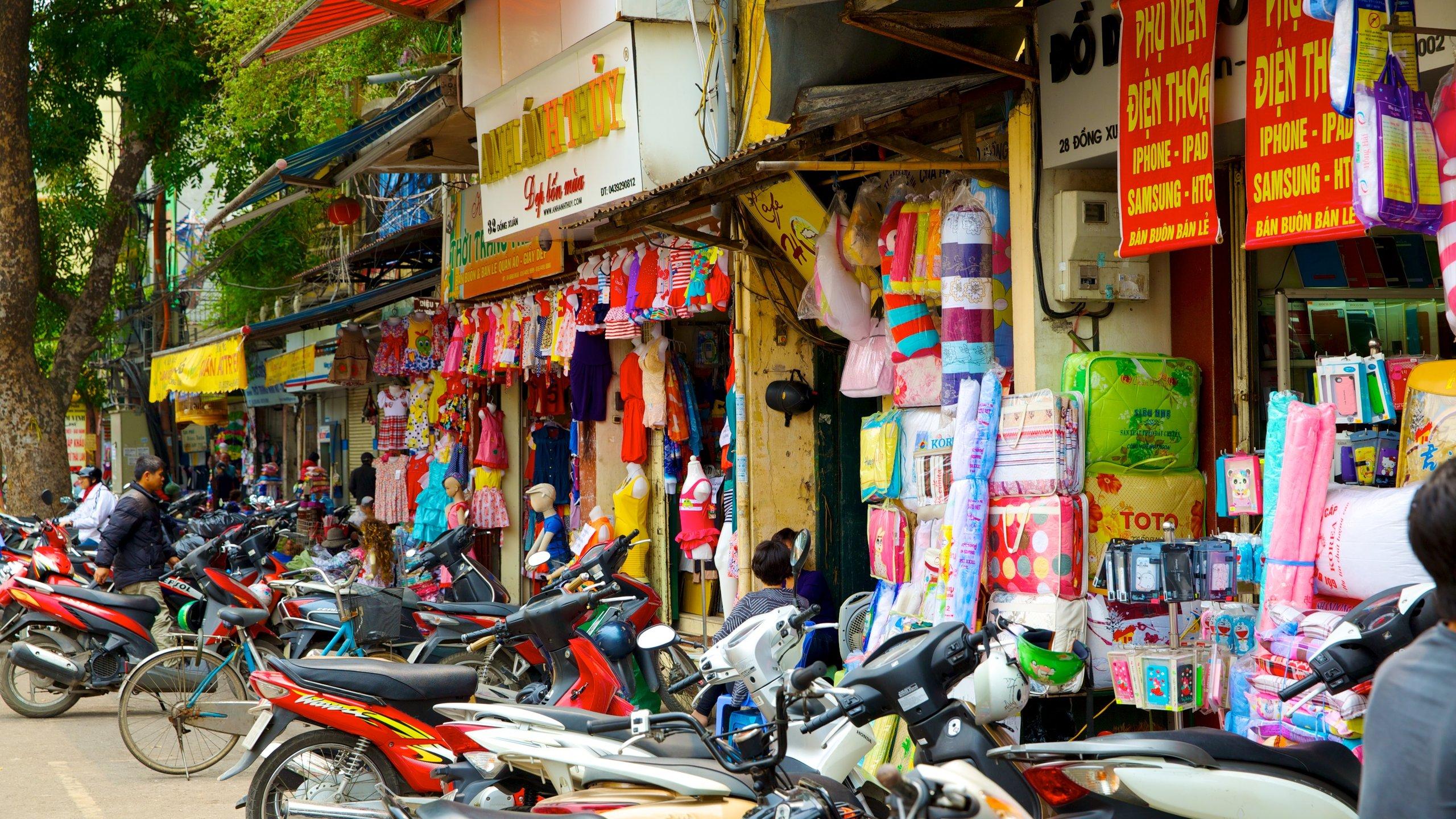 Dong Xuan Market, Hanoi, Vietnam