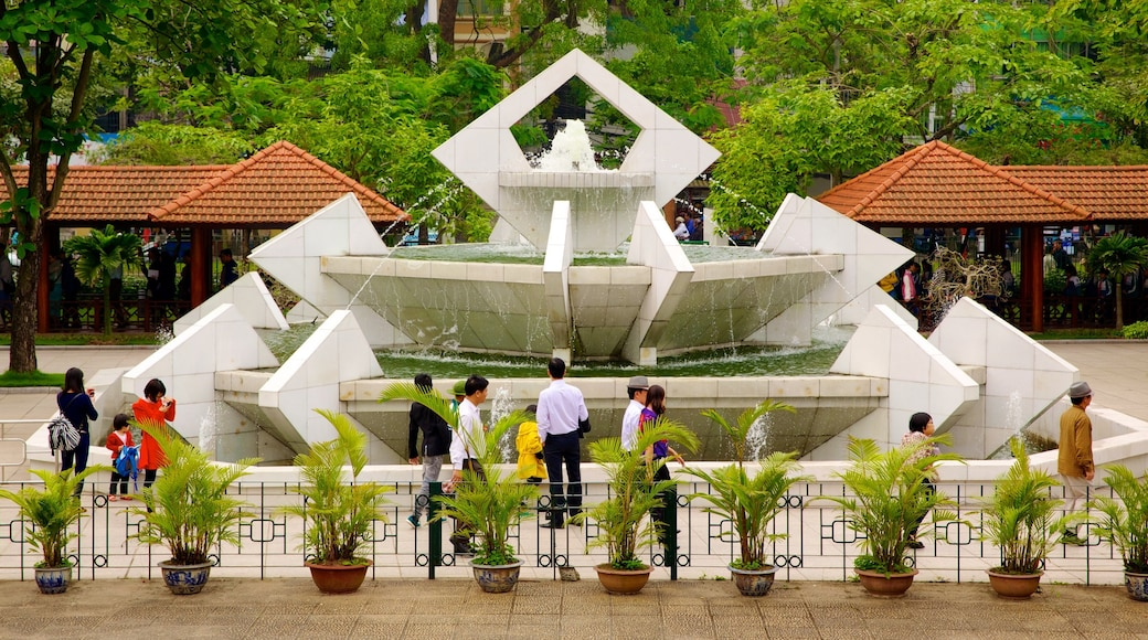 Ho Chi Minh Museum as well as a large group of people