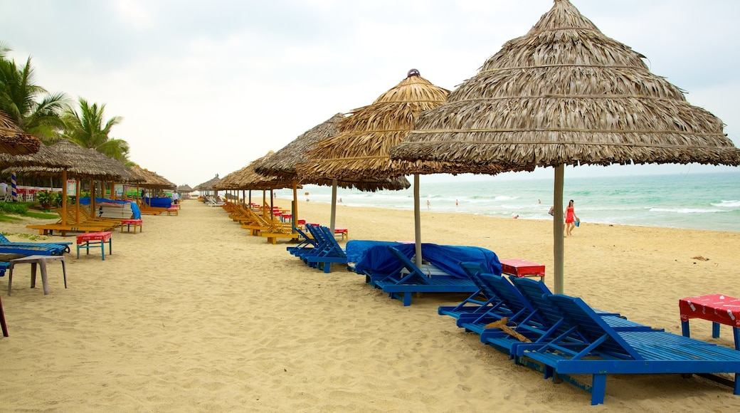 Hoi An featuring tropical scenes, a luxury hotel or resort and a beach