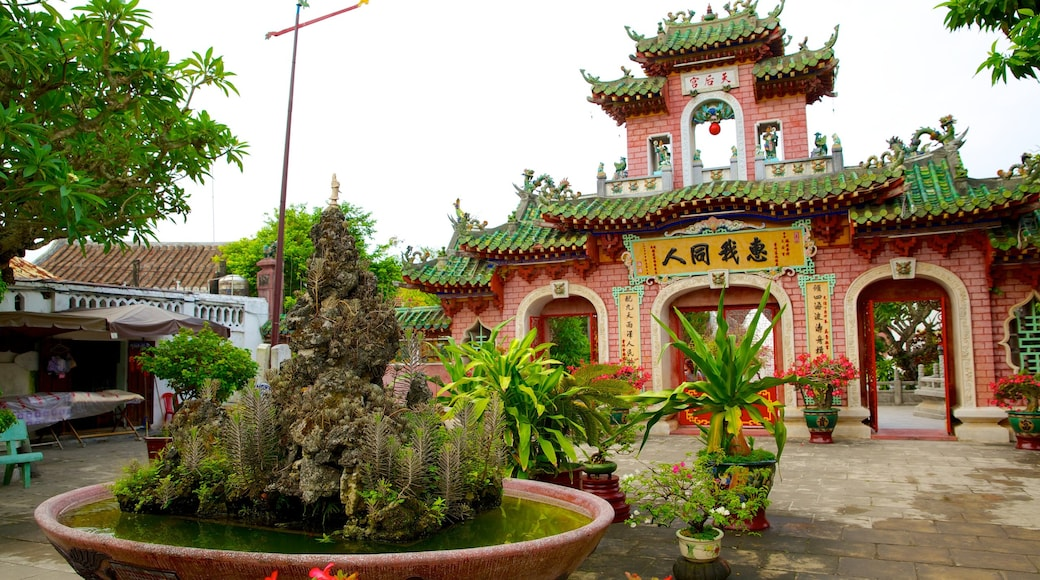 Assembly Hall of the Fujian Chinese Congregation featuring a garden and heritage architecture