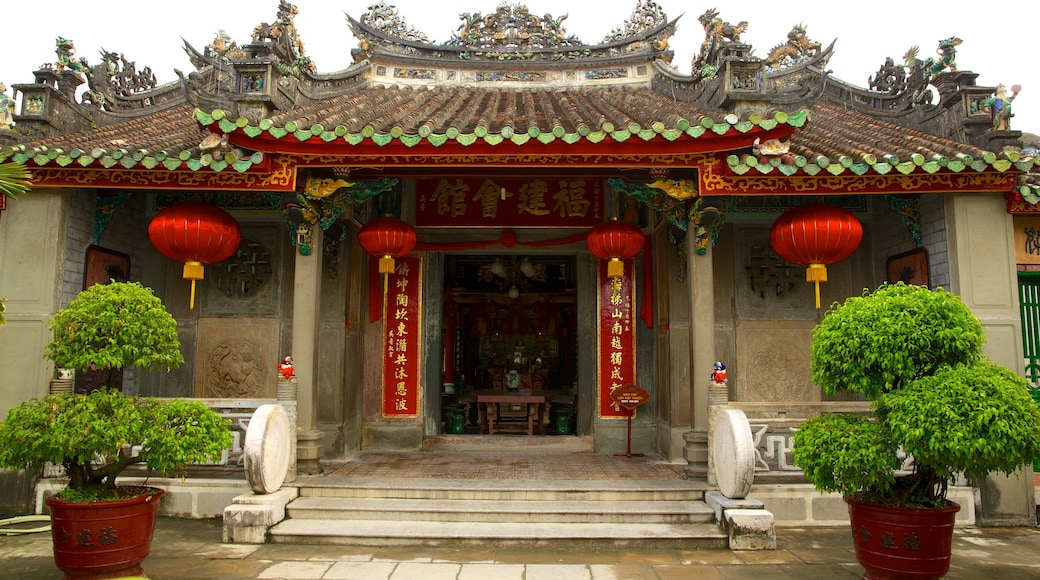 Assembly Hall of the Fujian Chinese Congregation featuring religious aspects