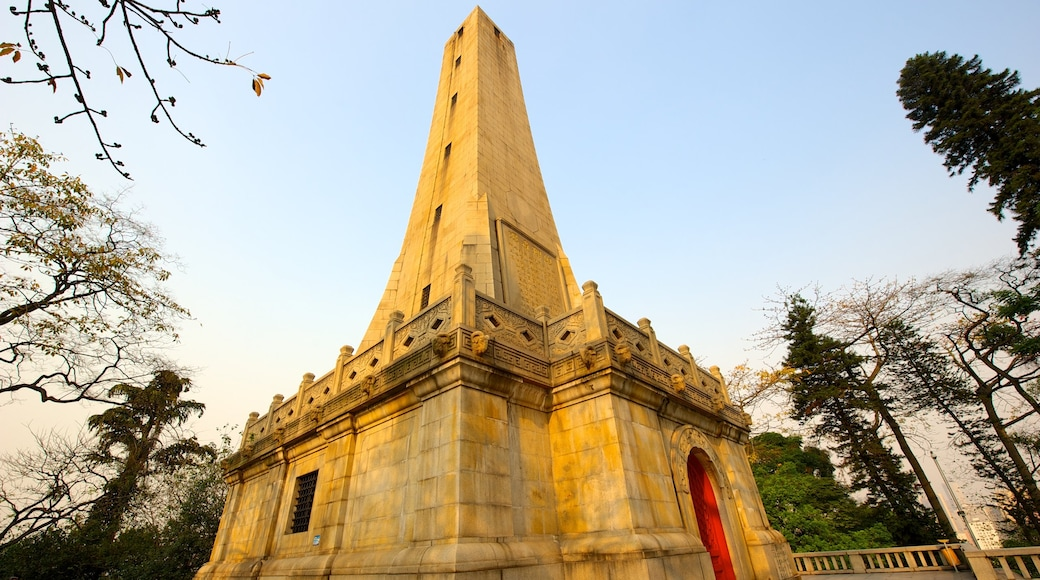 Yuexiu Park featuring heritage architecture