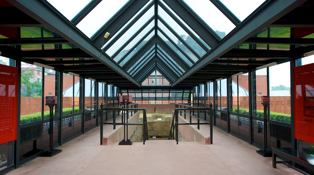 The Western Han Museum of the Nanyue King Mausoleum which includes interior views
