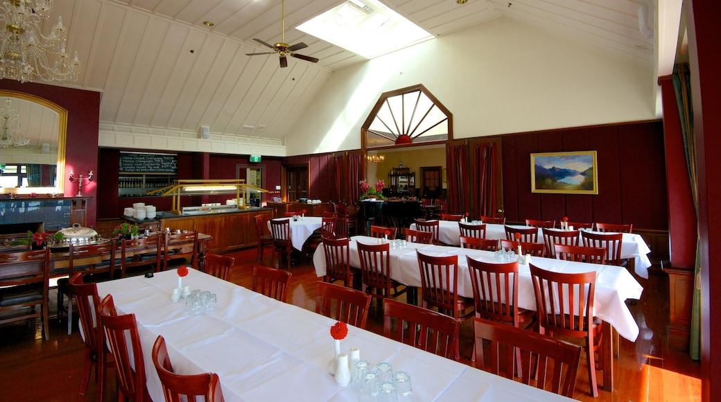 Walter Peak High Country Farm featuring interior views