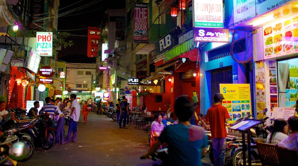 호치민시 을 특징 도시, 거리 풍경 과 시장