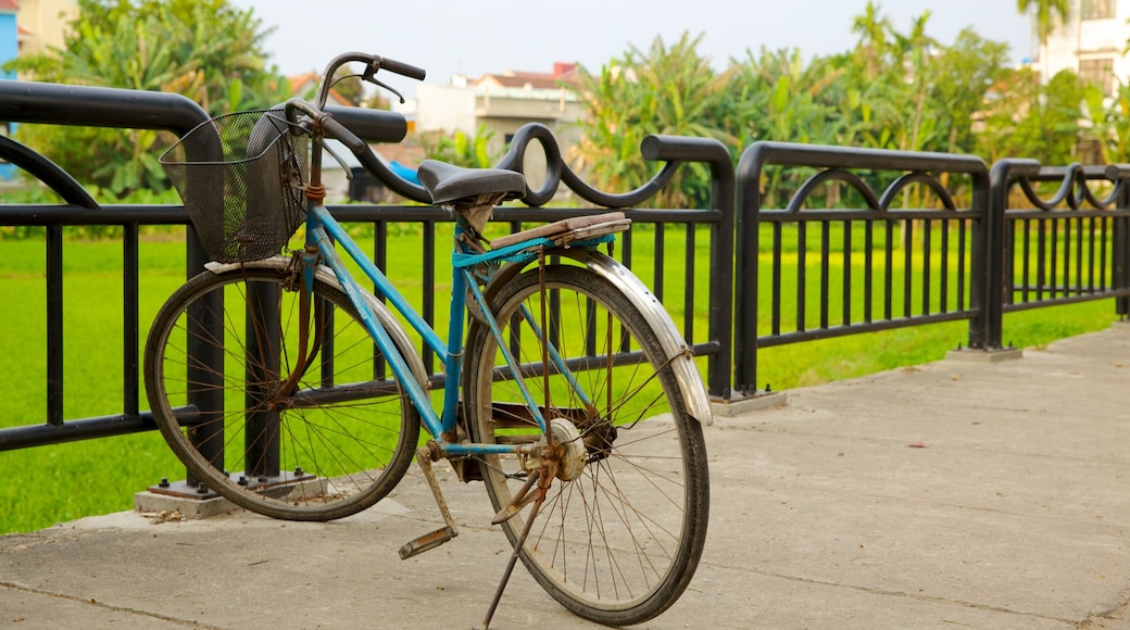 Hoi An which includes a garden and cycling
