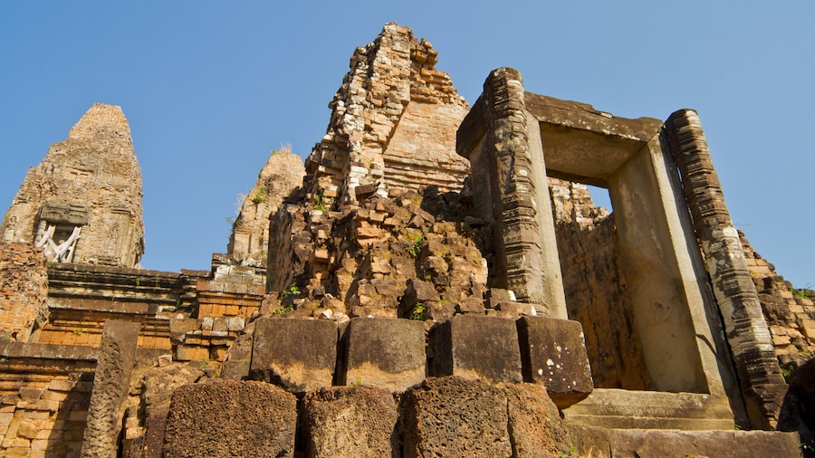 Siem Reap featuring a ruin