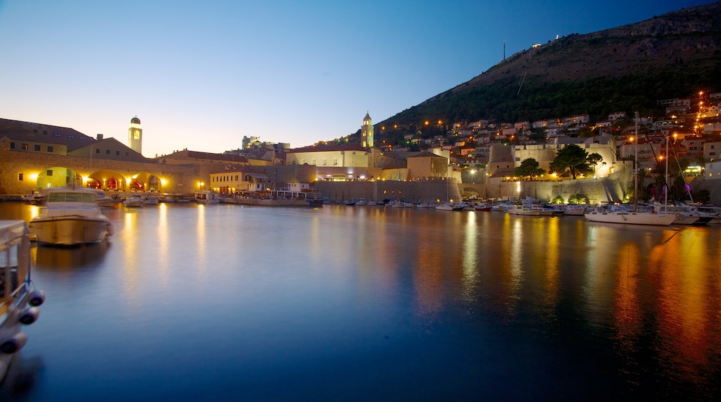 Dubrovnik - Southern Dalmatia showing general coastal views, a marina and a bay or harbour