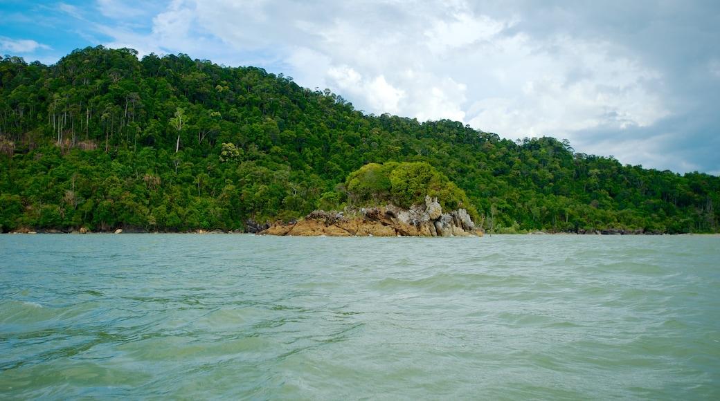 Bako National Park showing general coastal views, landscape views and tropical scenes