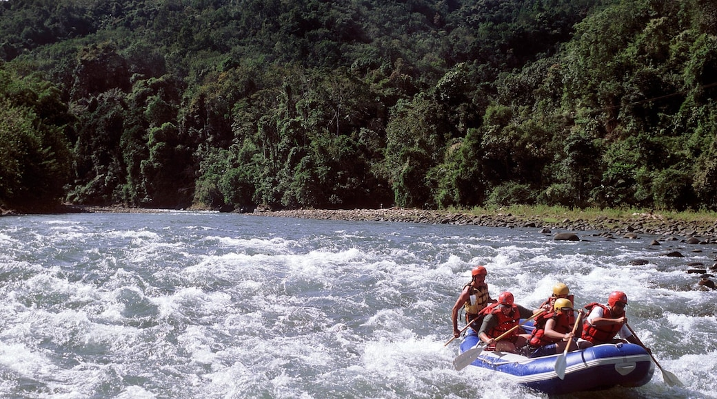Kinabalu National Park which includes rapids and rafting