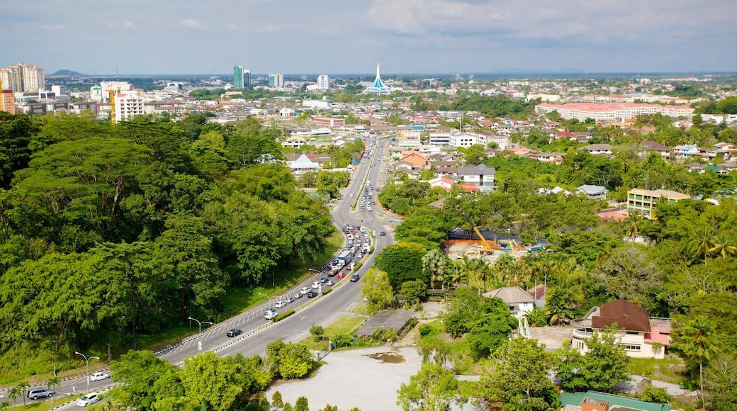 Kuching showing a city