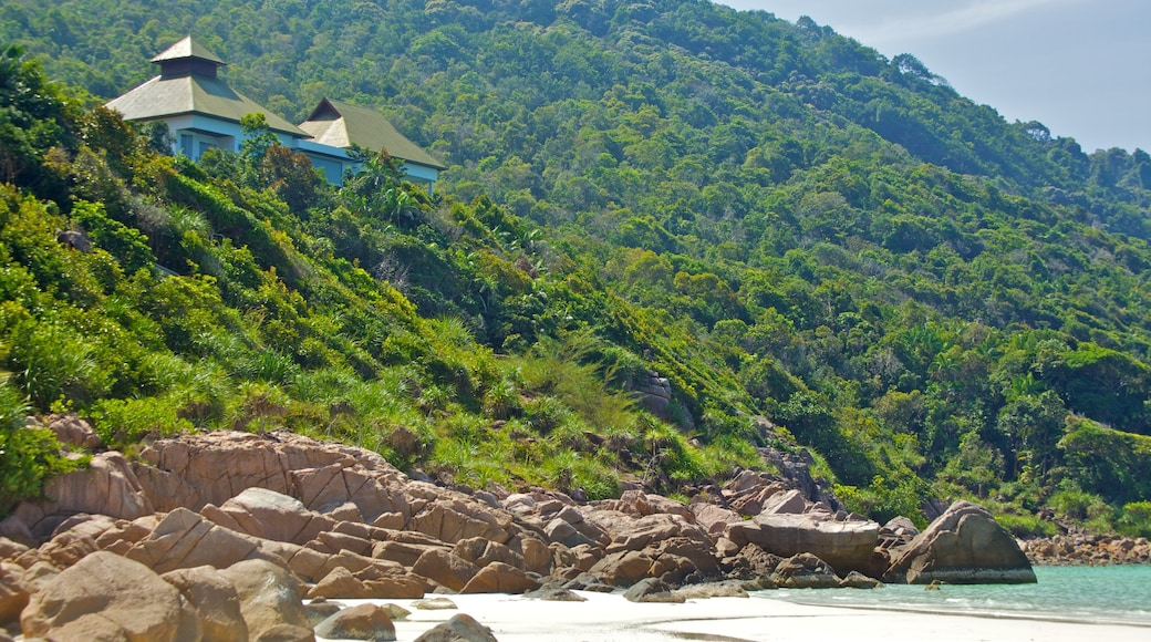 熱浪島 呈现出 山水美景