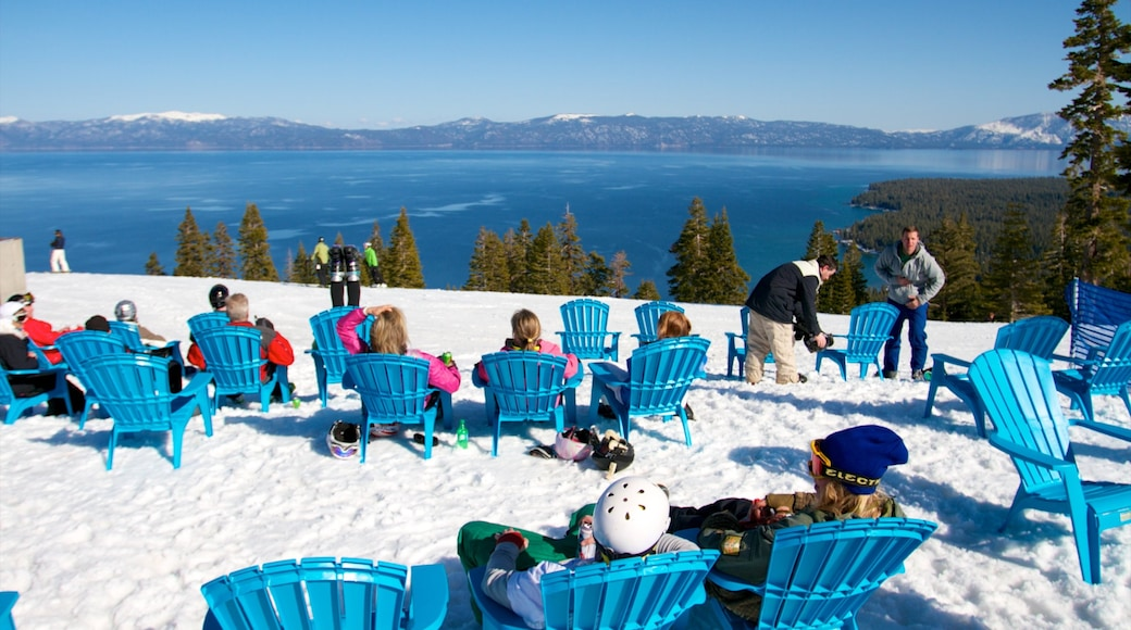 Homewood Mountain Resort featuring a luxury hotel or resort, mountains and snow