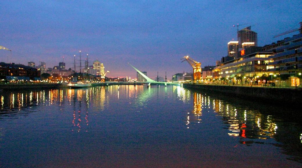 布宜諾斯艾利斯 其中包括 天際線, 海邊城市 和 海灣或海港