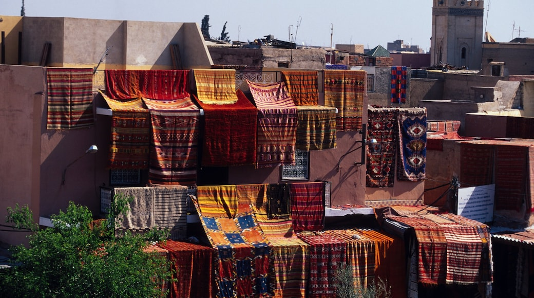 Marrakech featuring a city and heritage architecture
