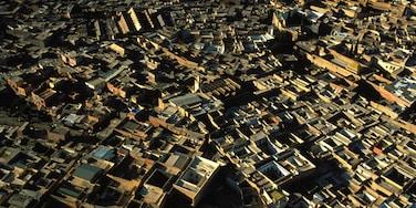Marrakech que incluye una ciudad