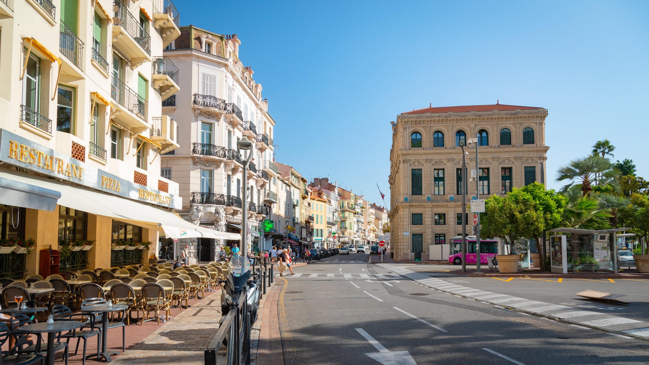 Le Suquet, Cannes, Alpes-Maritimes, France
