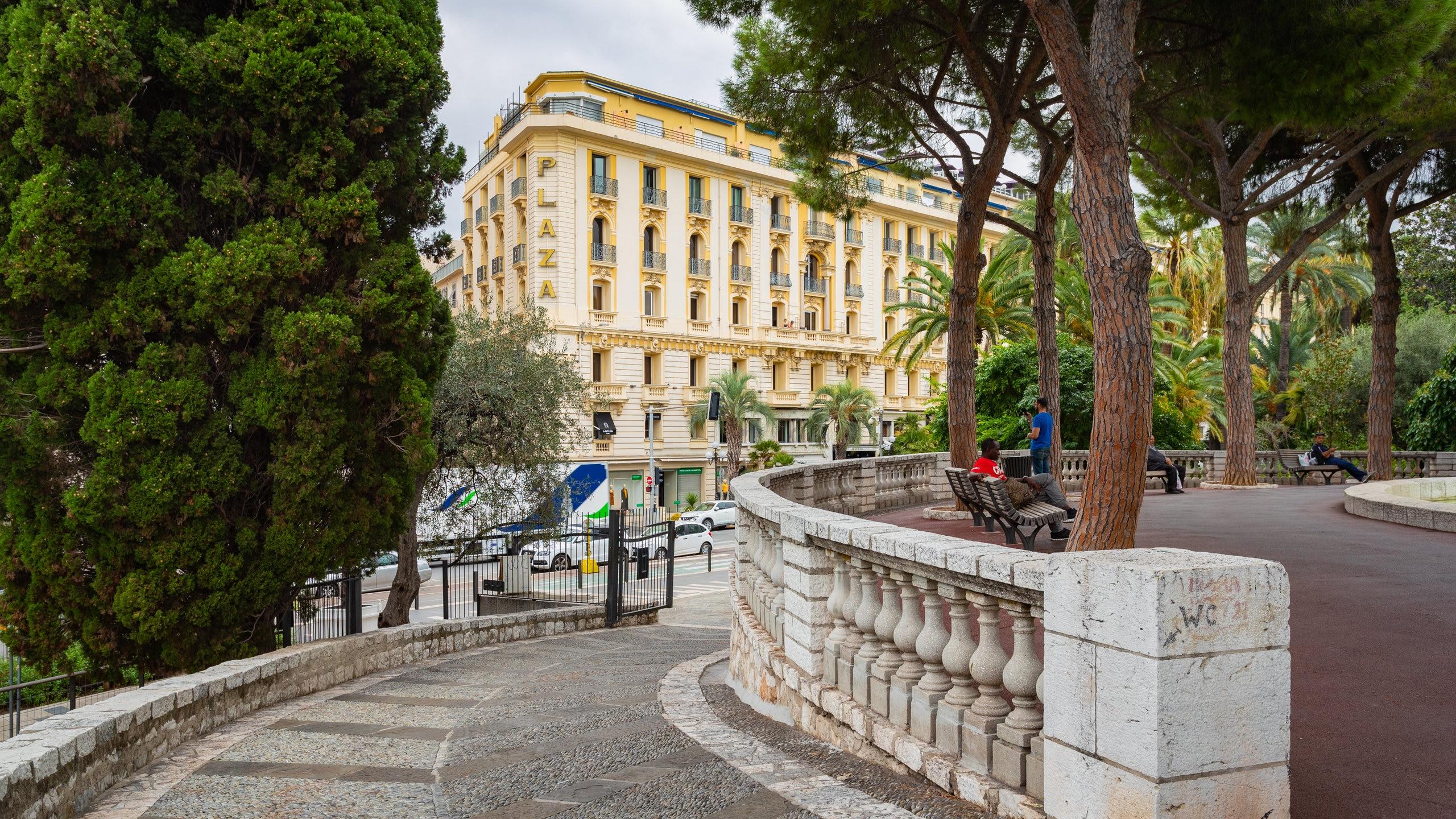 Jardin Albert 1er, Nizza, Département Alpes-Maritimes, Frankreich