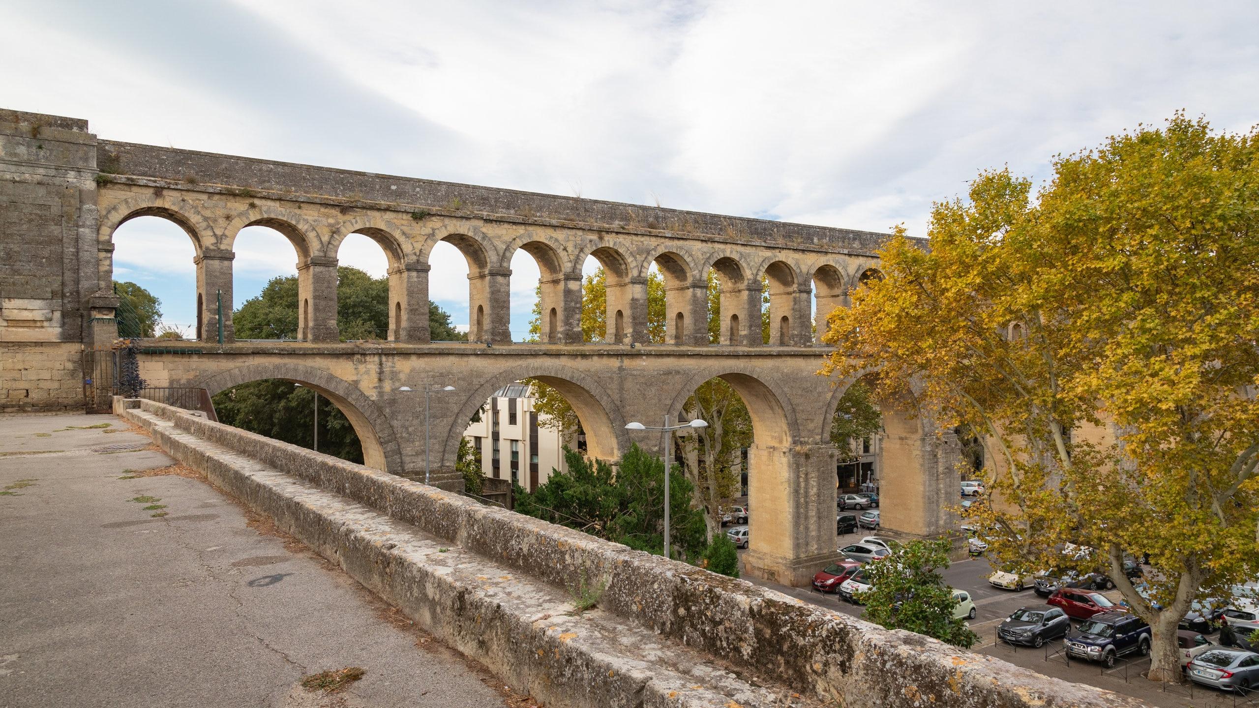 Aquädukt Montepellier, Montpellier, Herault (Département), Frankreich