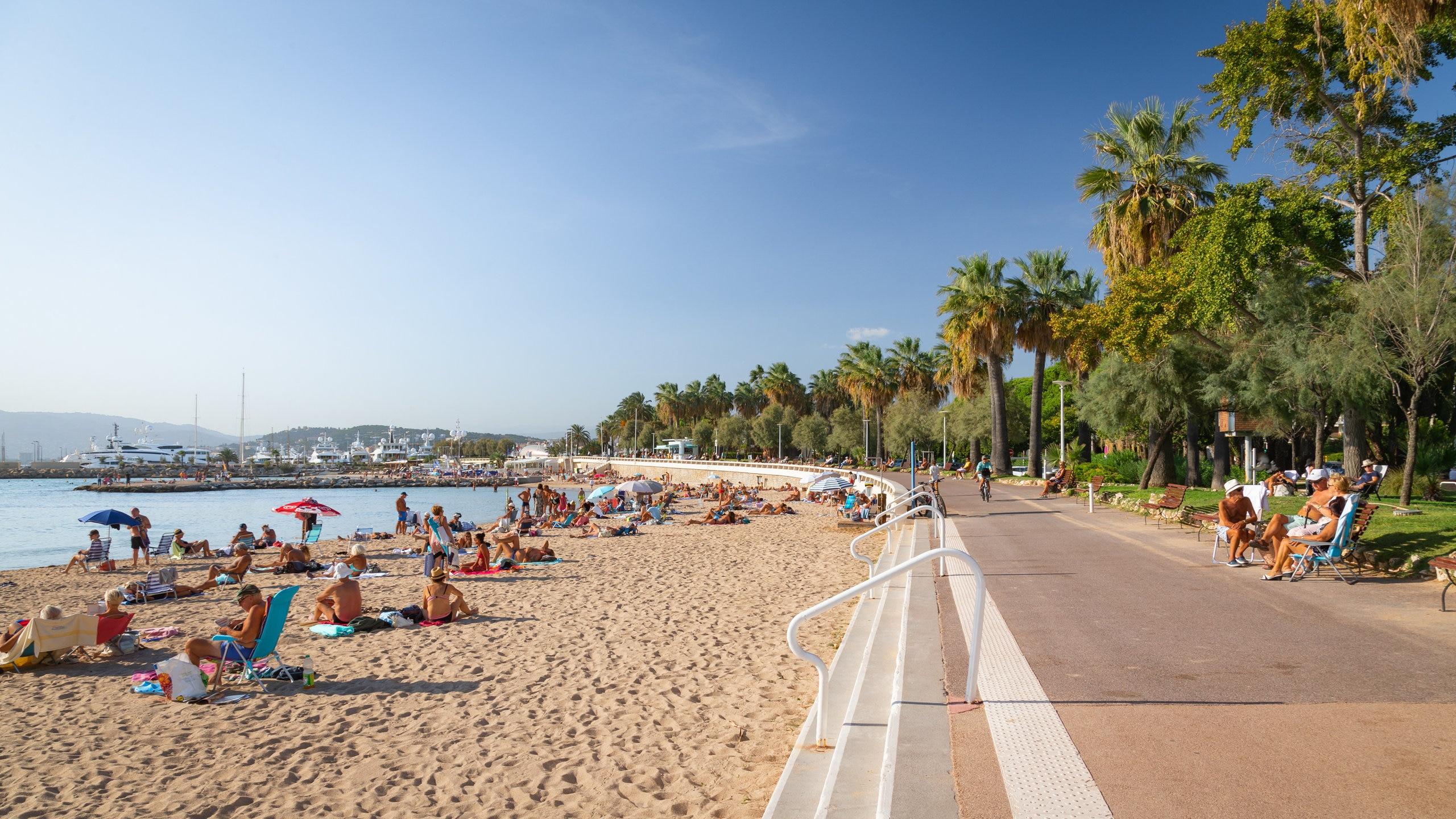 Pointe Croisette, Cannes, Département Alpes-Maritimes, Frankreich