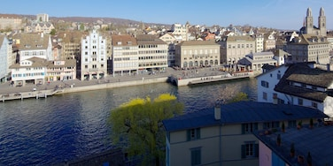 Lindenhof featuring a city, a river or creek and a house