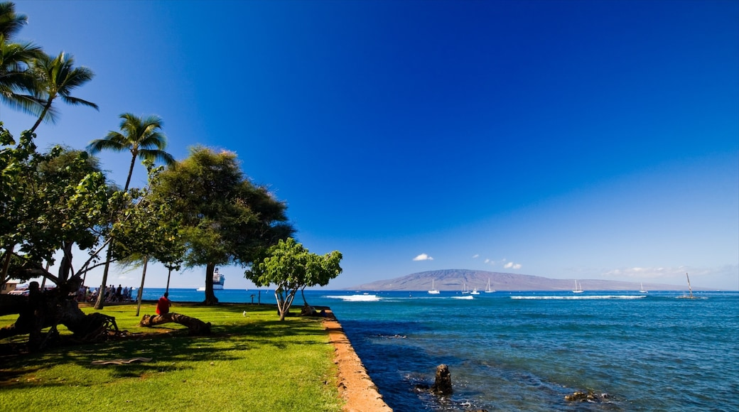 Lahaina showing general coastal views