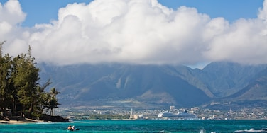 Kahului showing mountains, general coastal views and landscape views