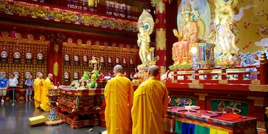 Chinatown featuring religious aspects, a temple or place of worship and interior views