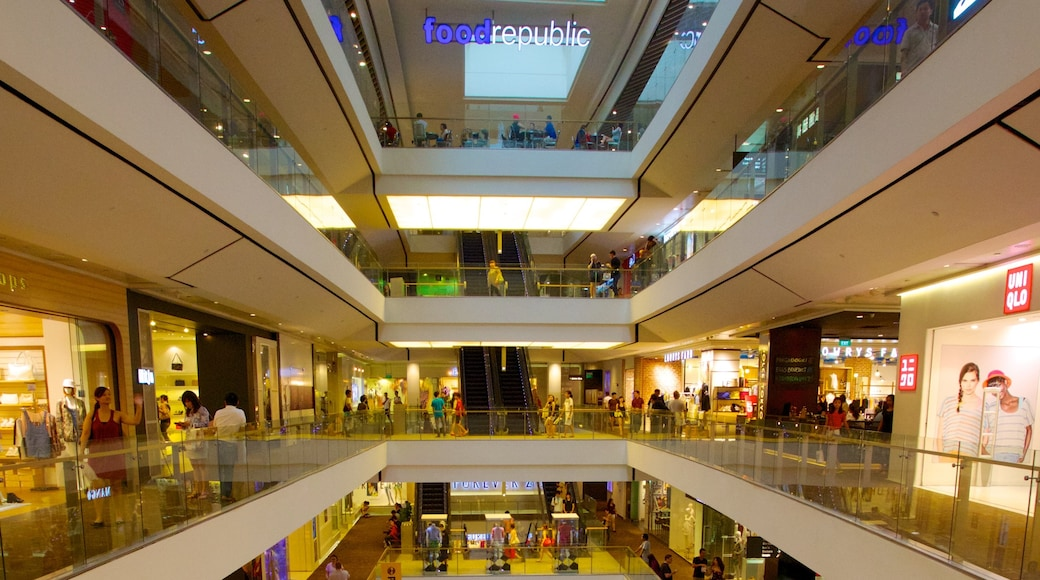 Singapore featuring interior views and shopping
