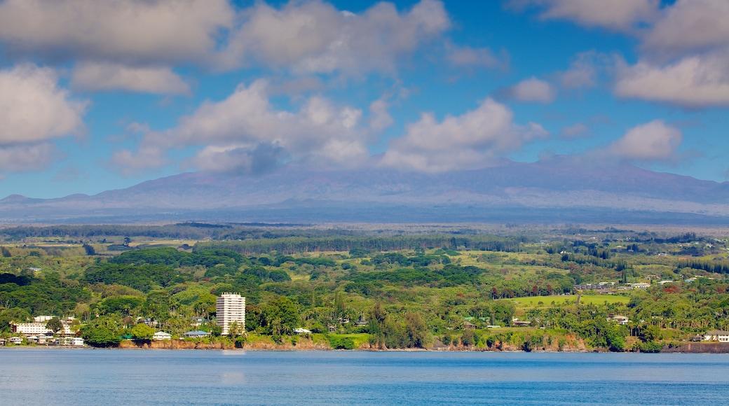 Mauna Kea das einen Küstenort und allgemeine Küstenansicht