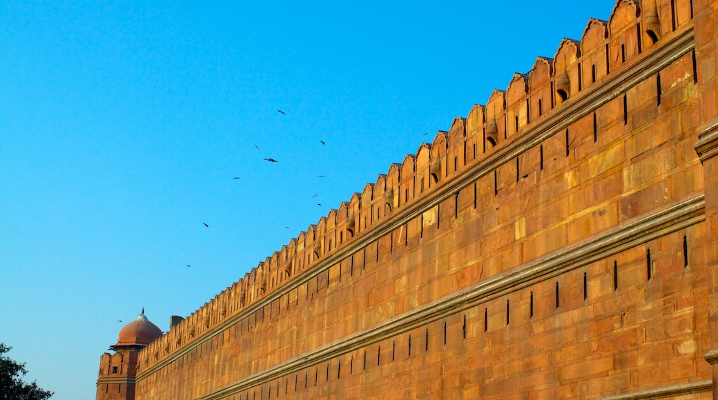 Red Fort featuring heritage architecture and a castle