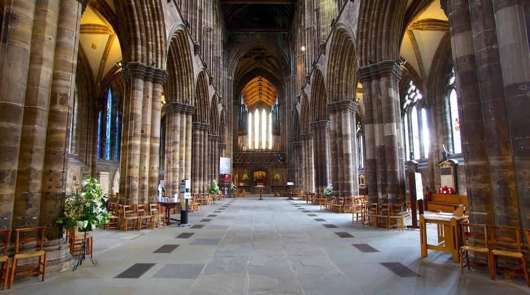 Kathedrale von Glasgow mit einem Innenansichten, Kirche oder Kathedrale und historische Architektur