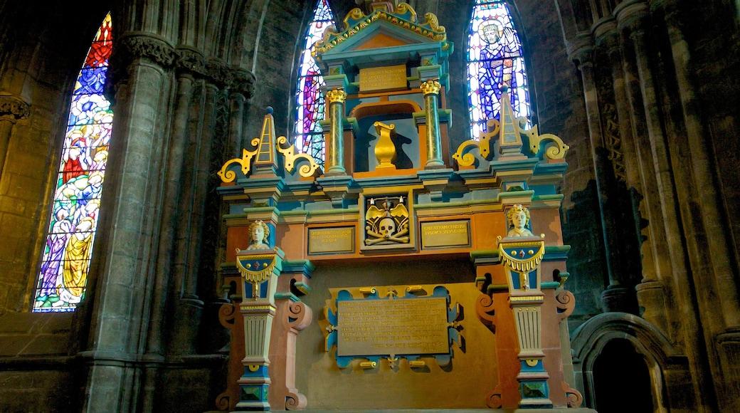 Kathedrale von Glasgow welches beinhaltet religiöse Aspekte, Innenansichten und Kirche oder Kathedrale