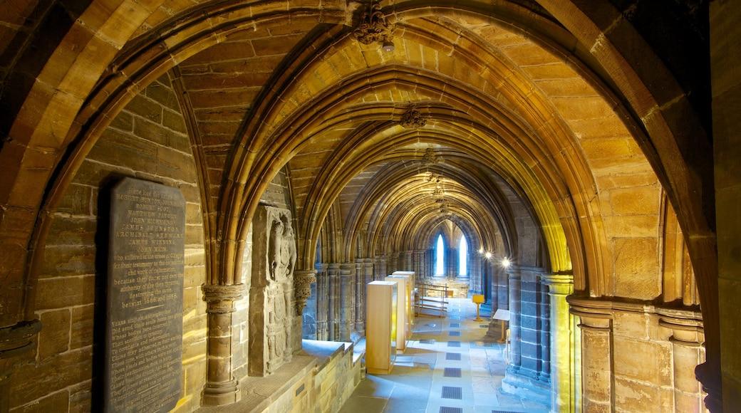 Kathedrale von Glasgow das einen Innenansichten, religiöse Aspekte und Kirche oder Kathedrale