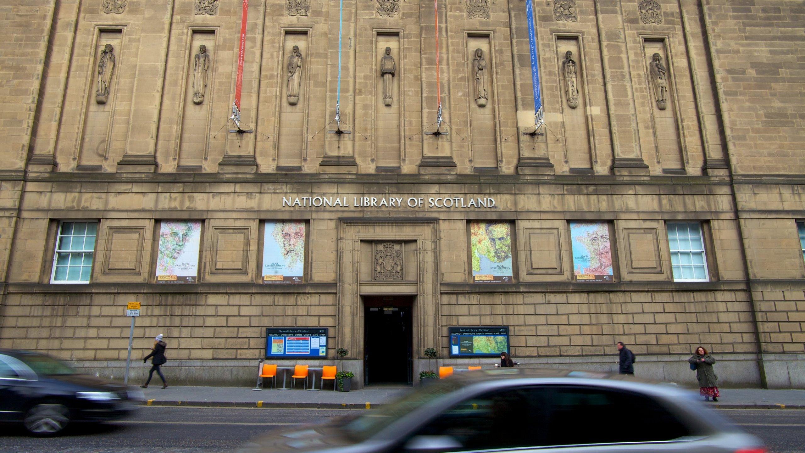 National Library of Scotland, Edinburgh, Scotland, United Kingdom