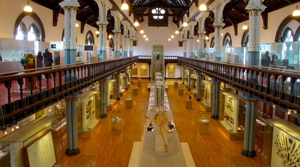 Hunterian Museum which includes interior views