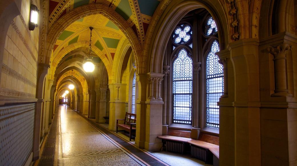 曼徹斯特市政廳 呈现出 內部景觀 和 歷史建築