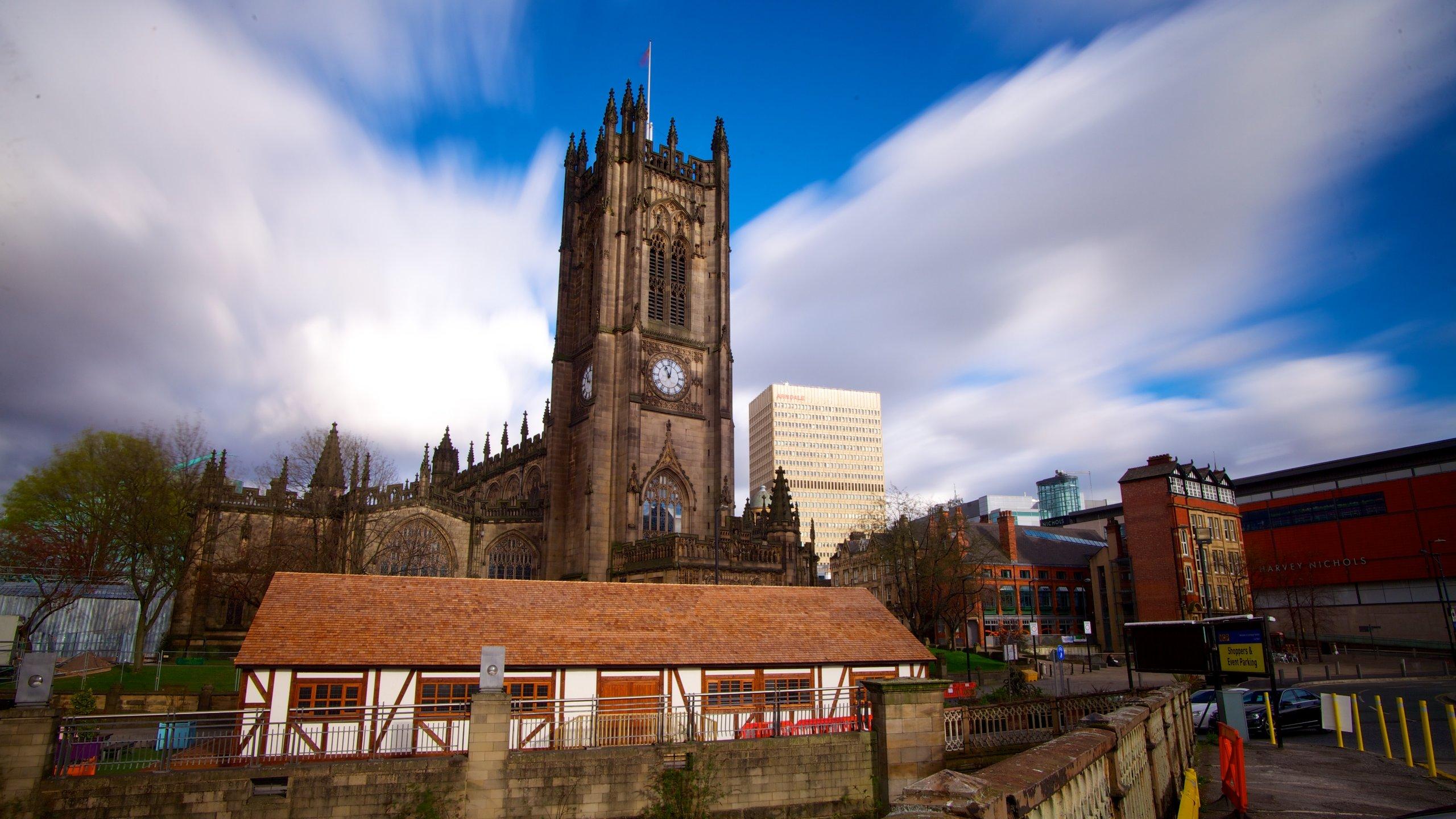 Manchester Kathedrale, Manchester, England, Großbritannien