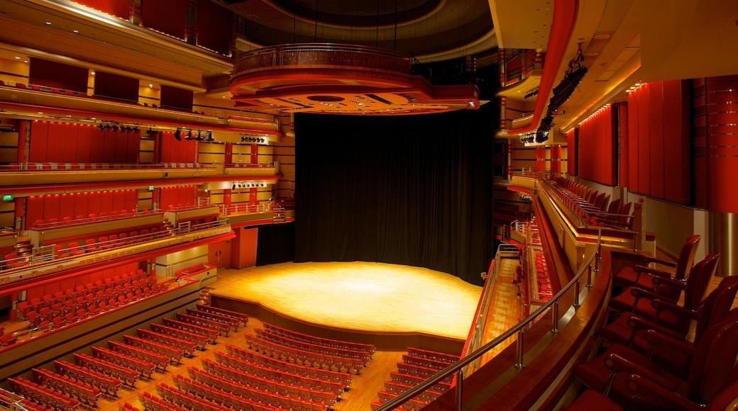 Symphony Hall som inkluderer teater og innendørs